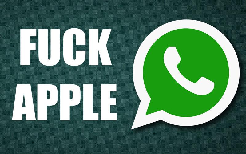 whatsapp-insultes-apple