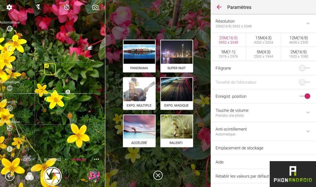 zte axon 7 app photo