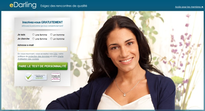 Exemple mix marketing 4 p sur les sites de rencontre