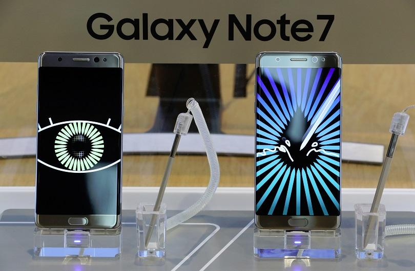 galaxy note 7 conditions travail