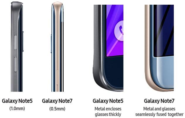 galaxy note 7 design