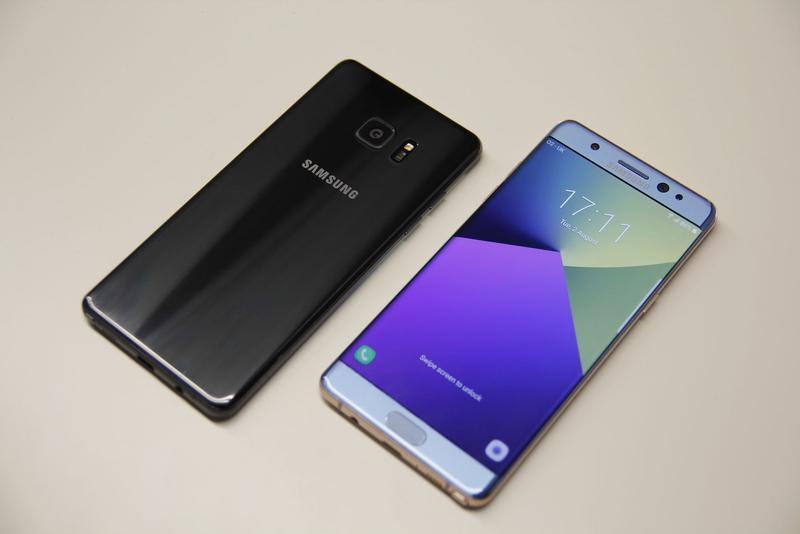 galaxy note 7 explose avion