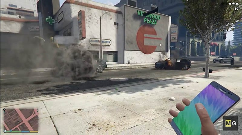 galaxy note 7 gta v mod