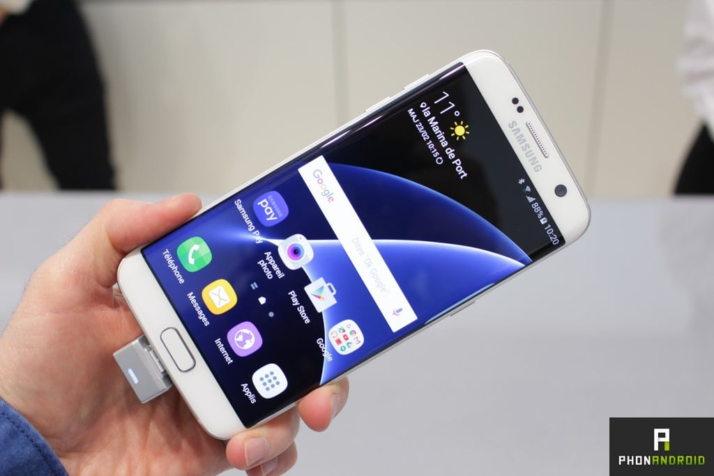 galaxy s7 mise a jour