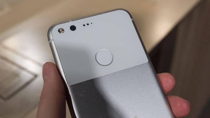 google pixel capteur photo defaut