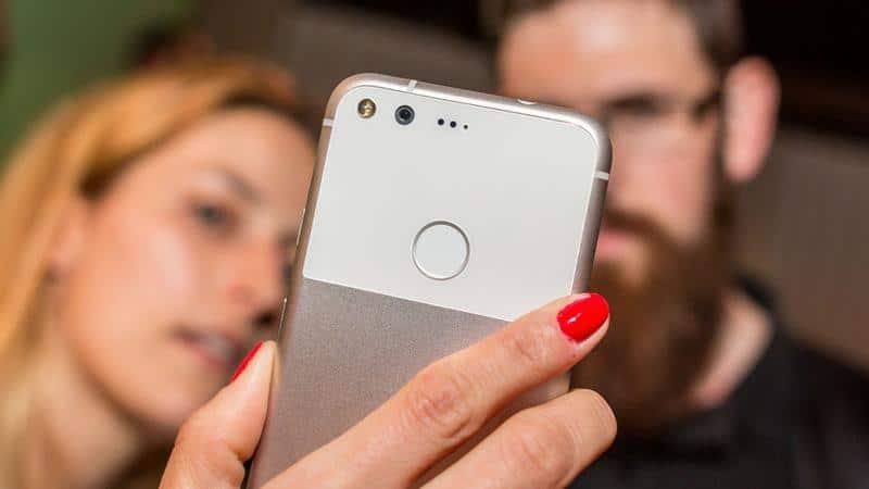 google pixel lecteur empreintes