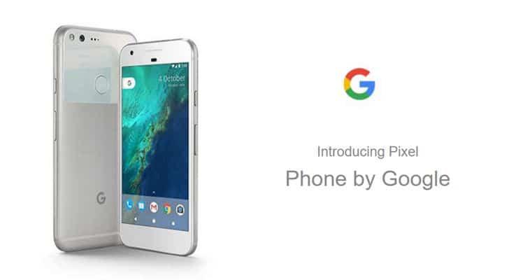 google pixel visuel