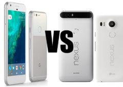 google pixel xl vs nexus 5x 6p