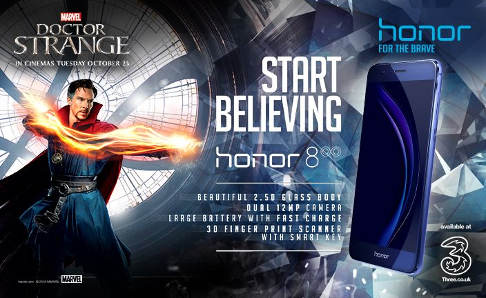 honor 8 marvel