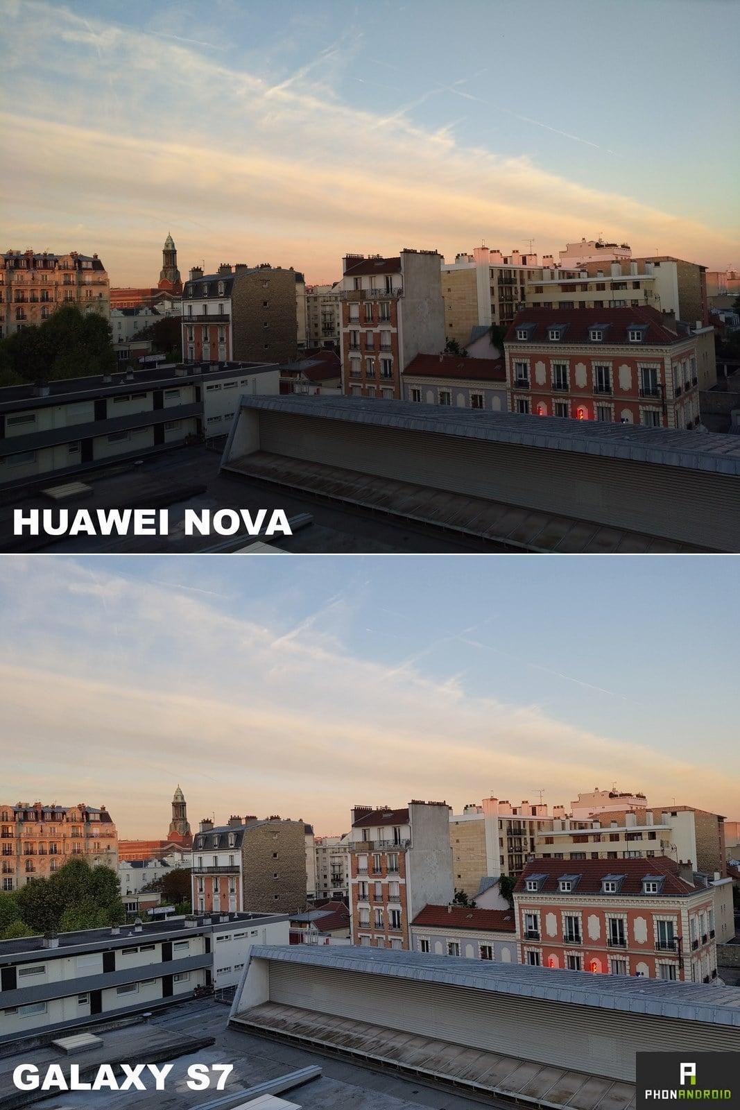 huawei nova galaxy s7 photo