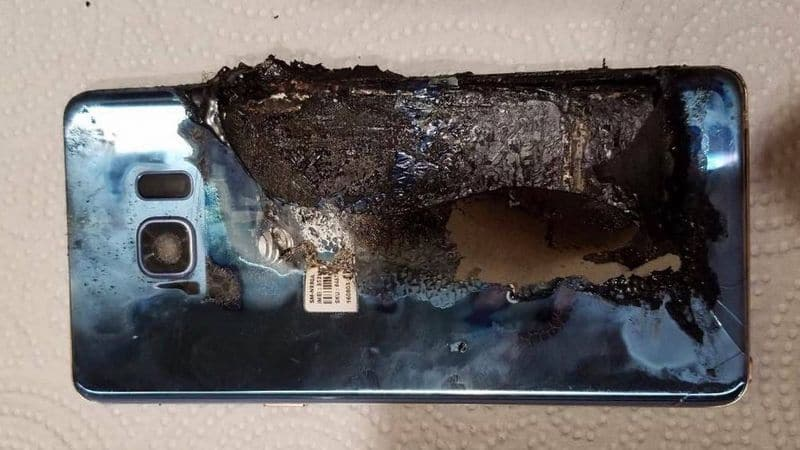 samsung explosions
