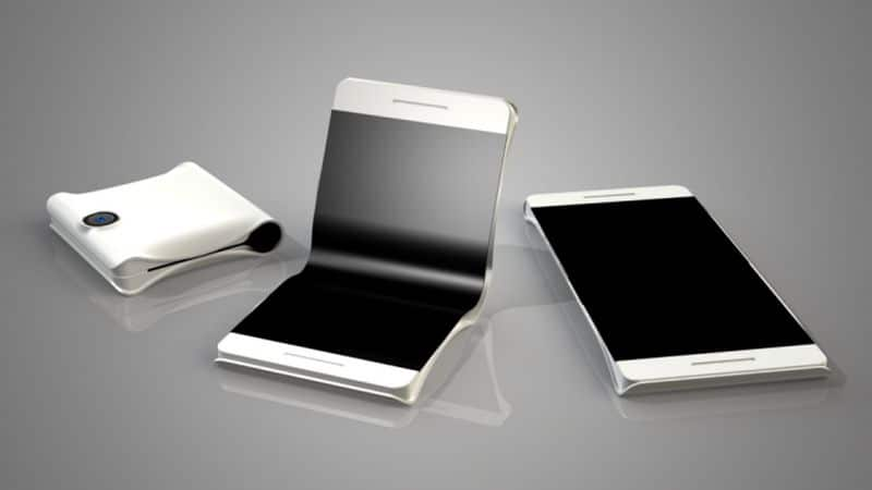 samsung smartphone pliant