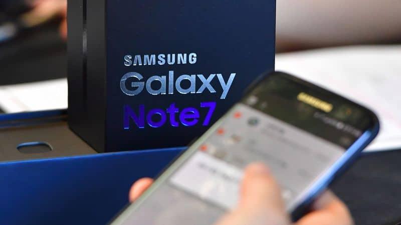 Galaxy Note 7 ventes