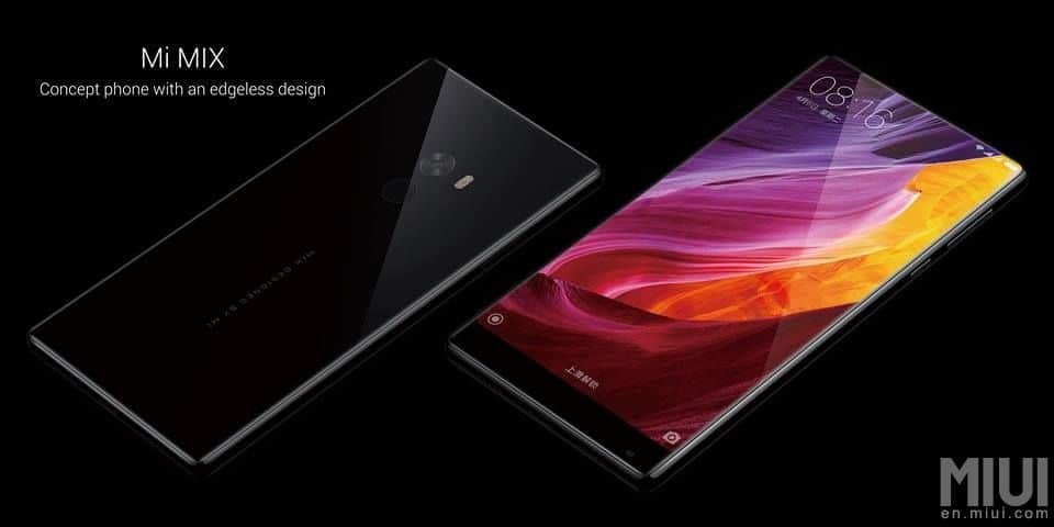 xiaomi mi mix officiel