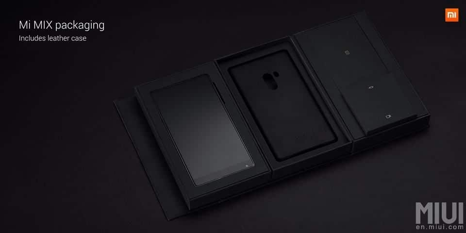 xiaomi mi mix packaging