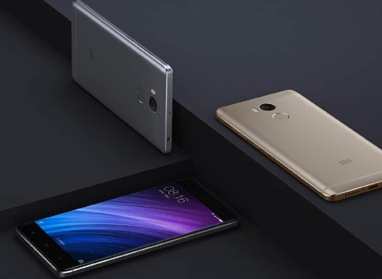 xiaomi redmi 4 design
