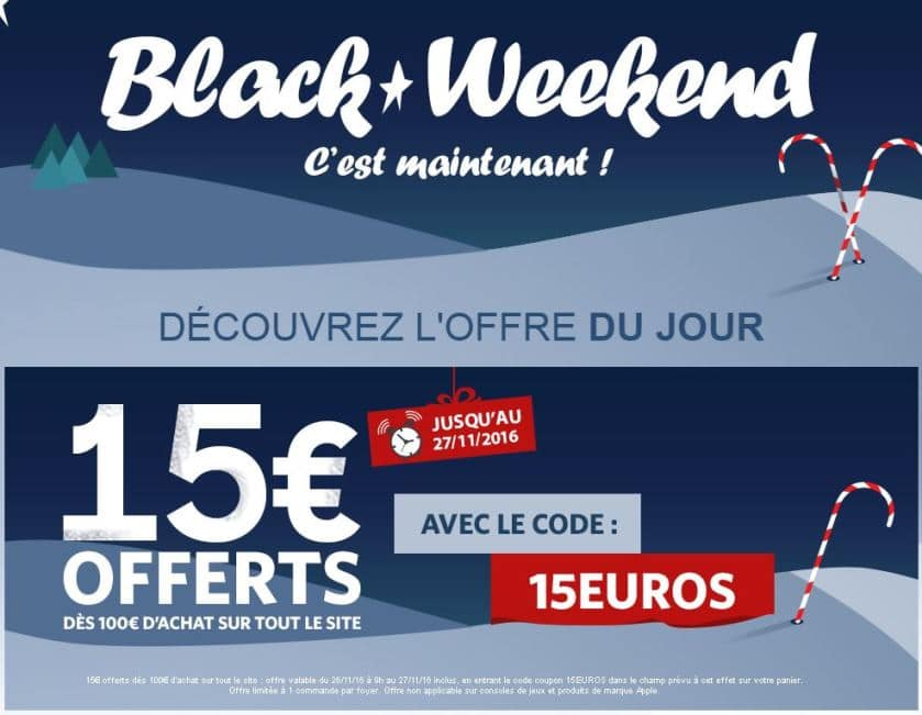 black week-end materiel-net