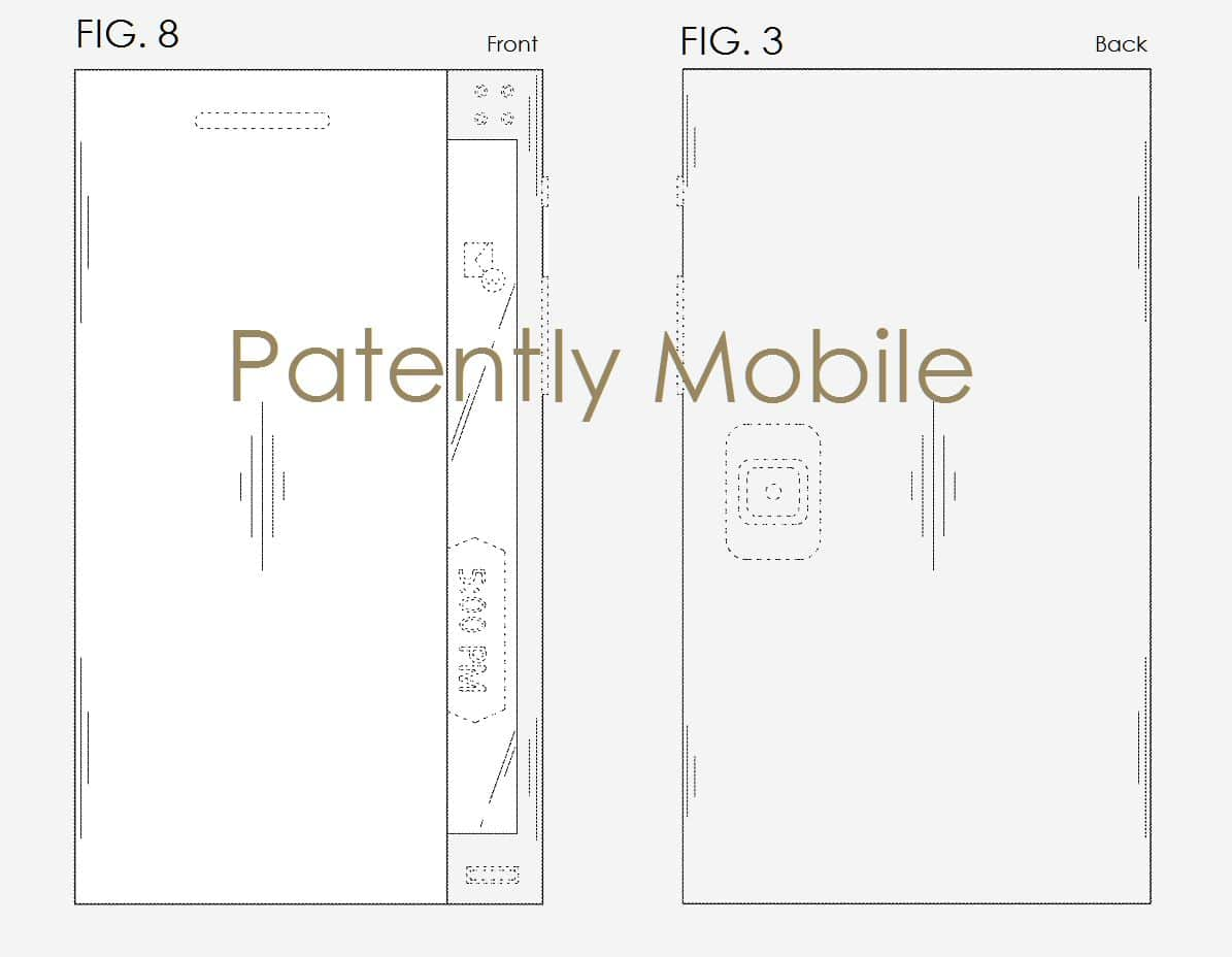 brevet smartphone pliant