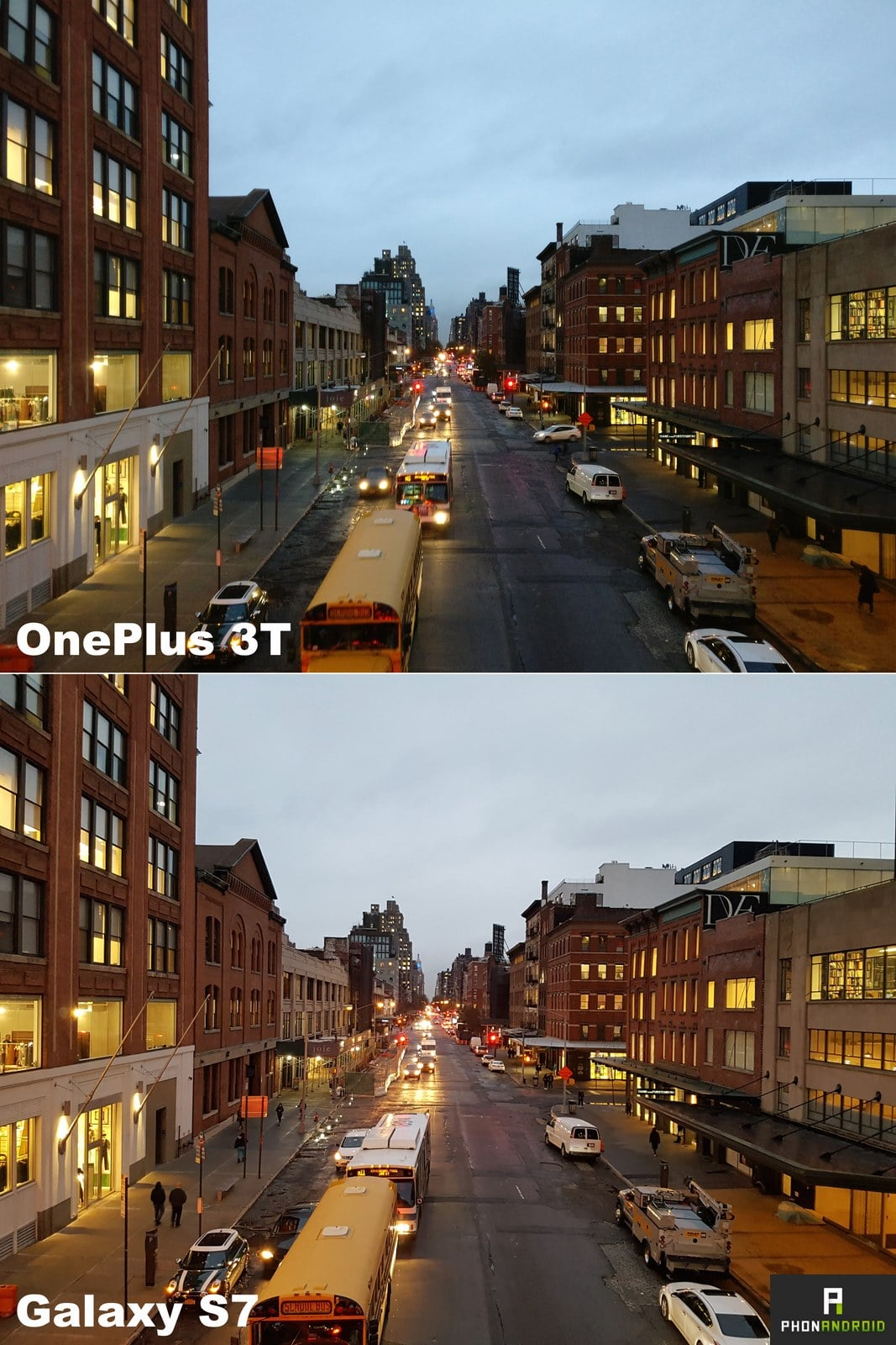 comparatif photo oneplus 3t galaxy s7