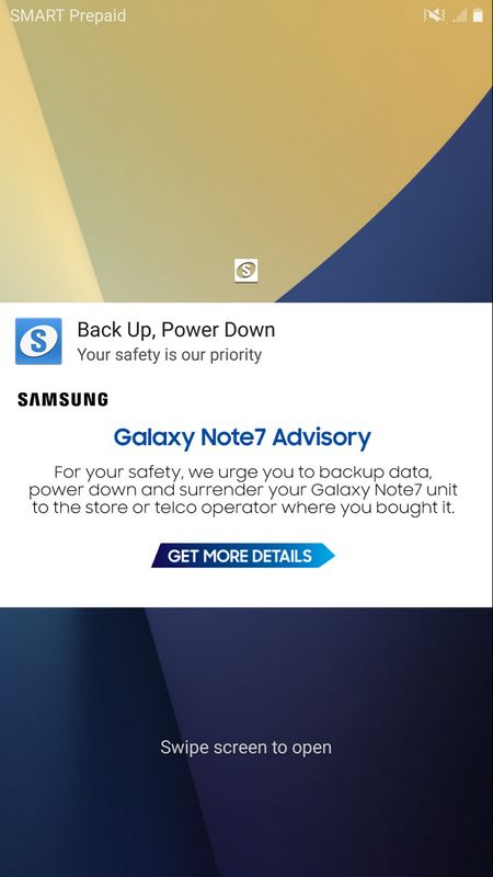 galaxy note 4 notification