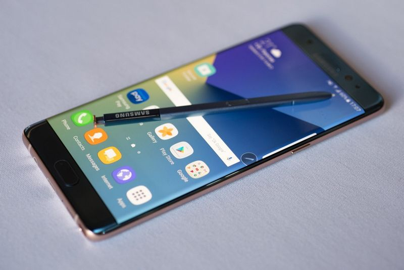 galaxy note 7 chine excuses