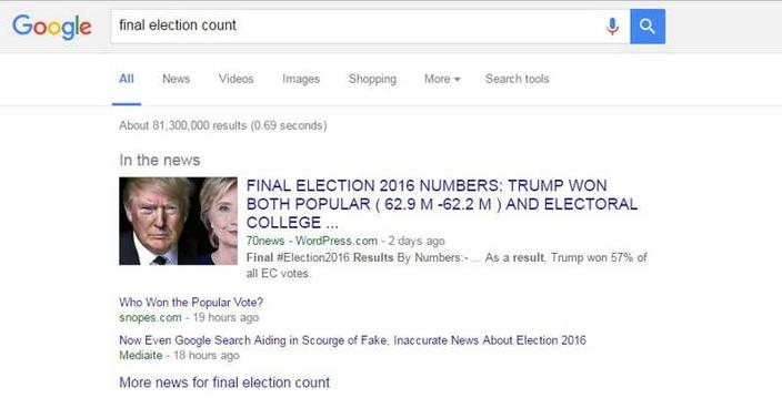 google erreur