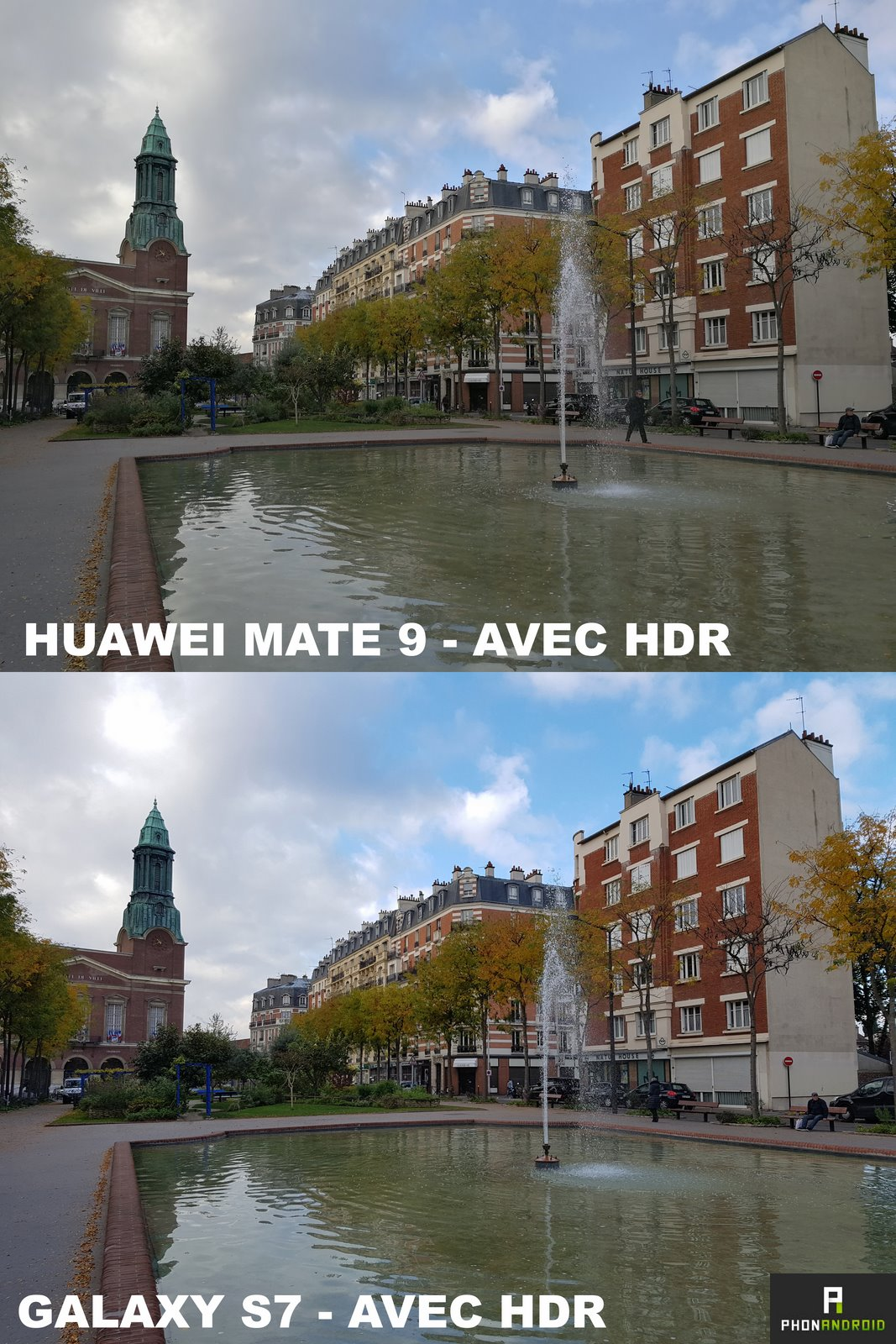 huawei mate 9 galaxy s7 hdr