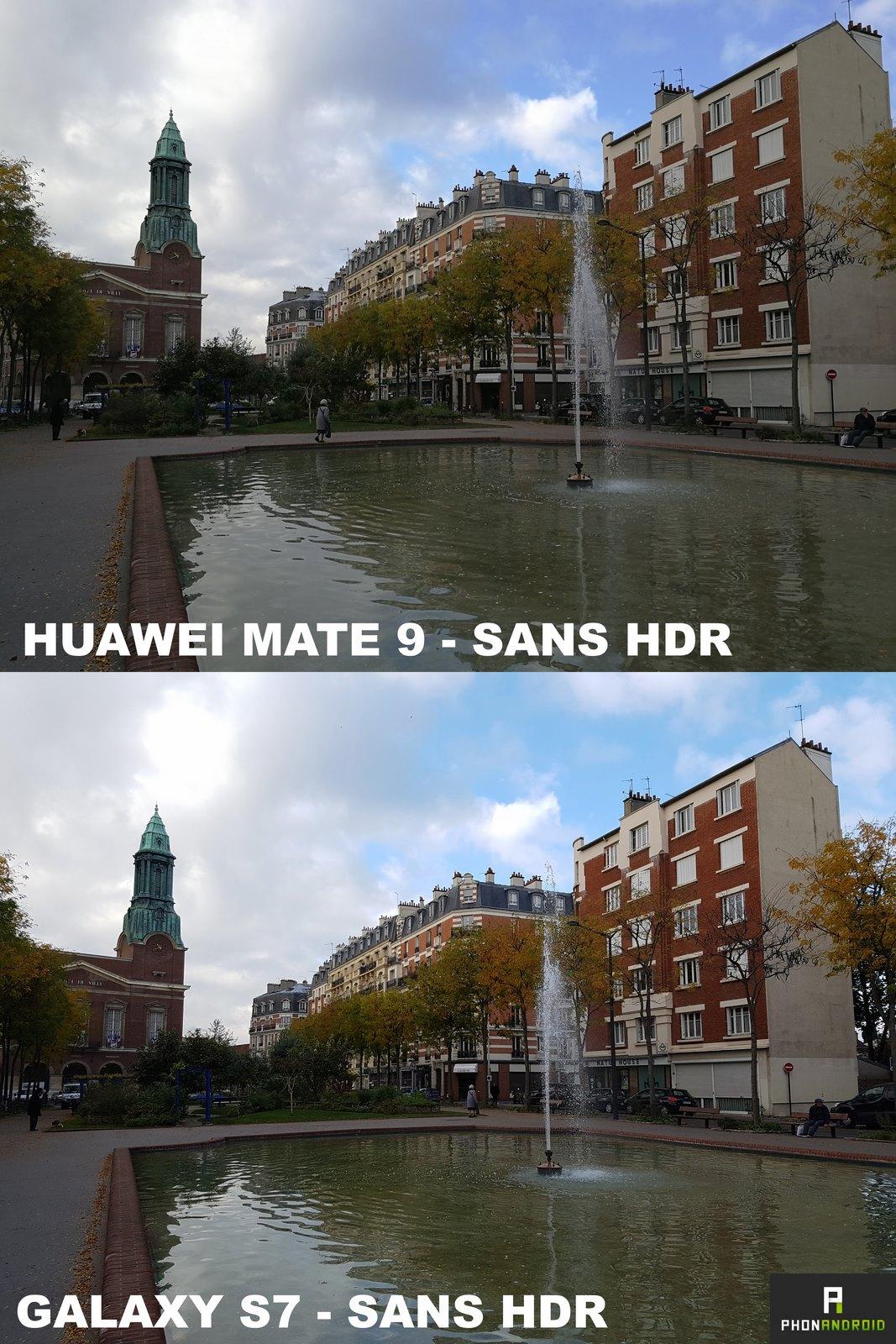 huawei mate 9 photo sans hdr
