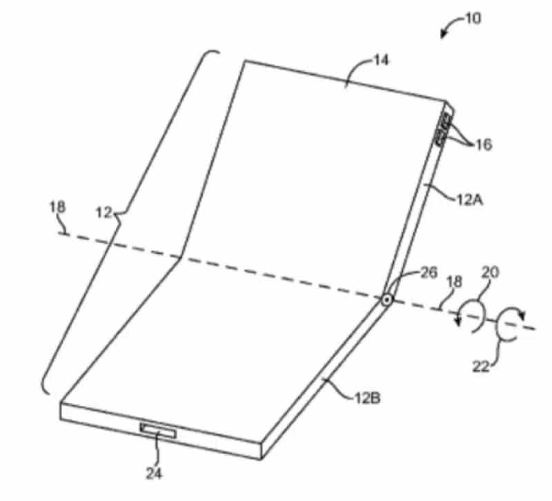 iphone flexible brevet samsung