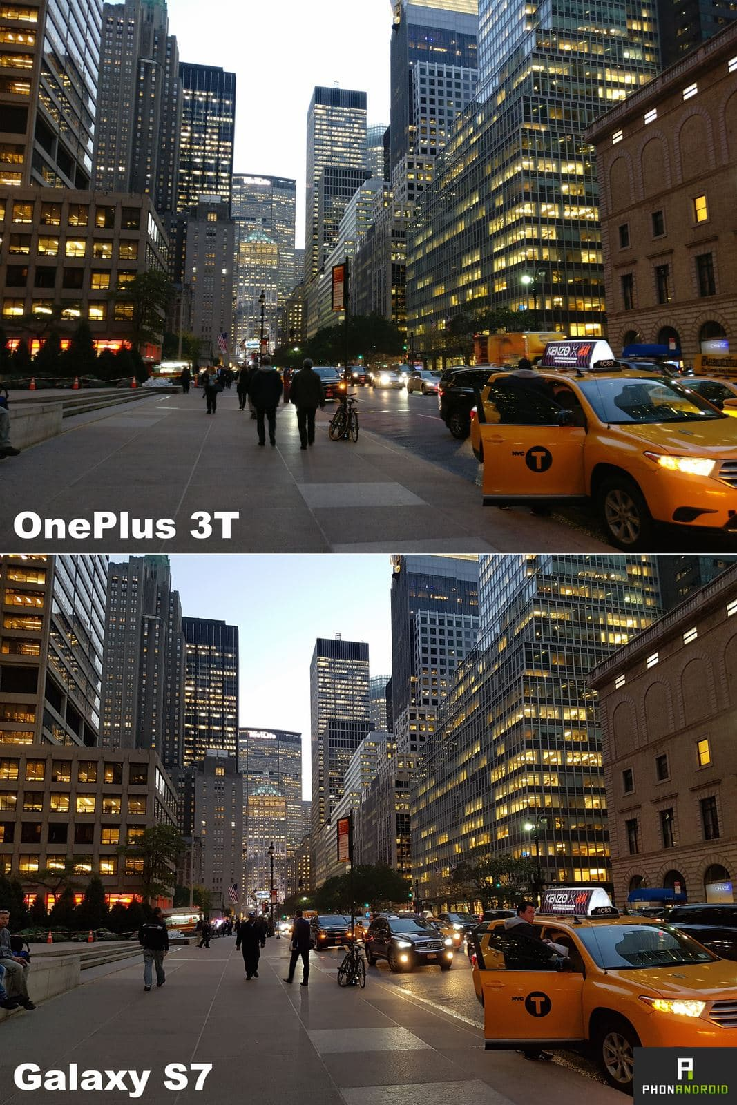 oneplus 3t galaxy s7 photo comparatif