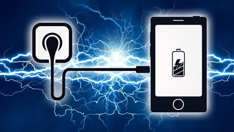 smartphones recharge rapide