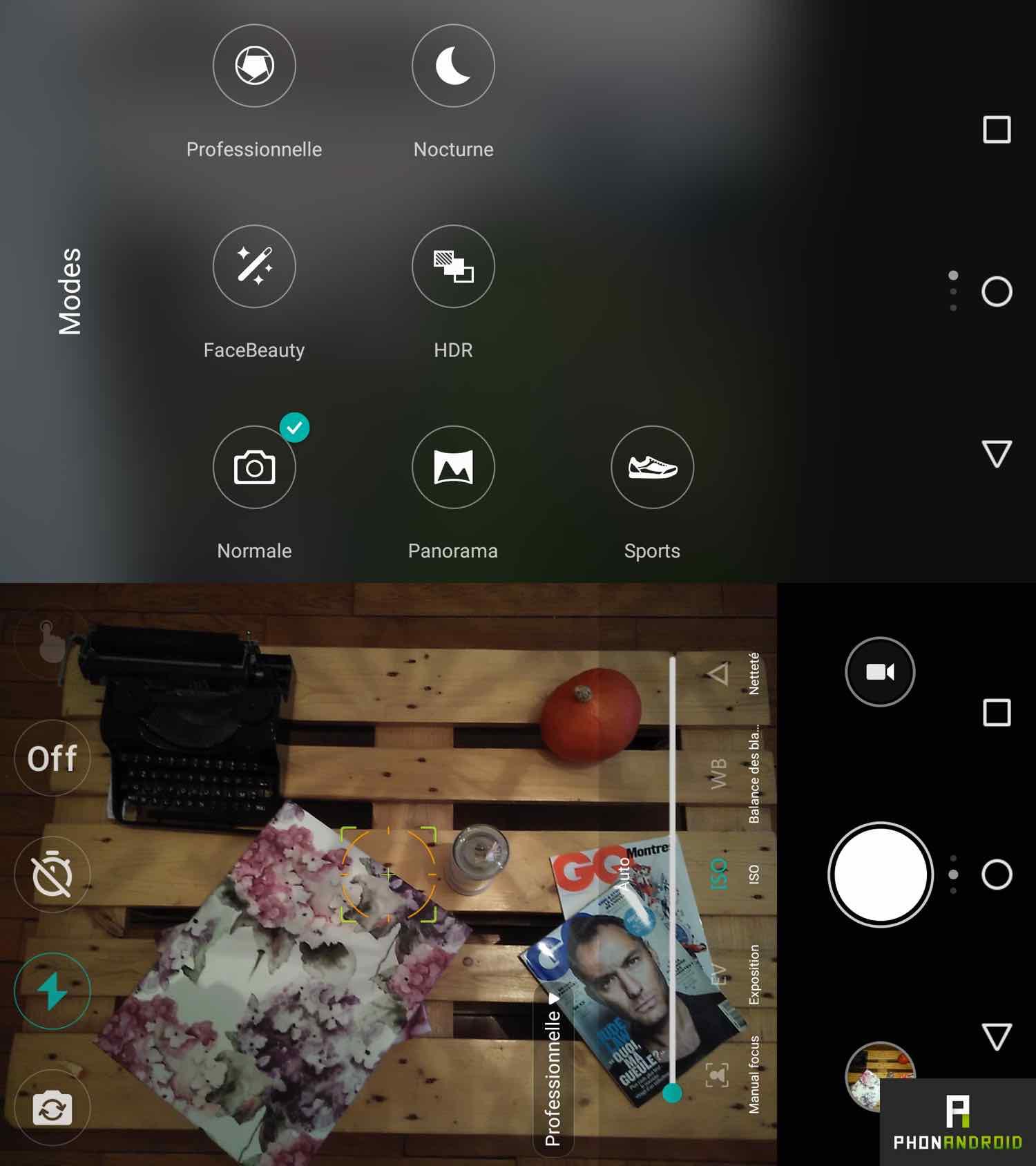 ufeel prime interface camera
