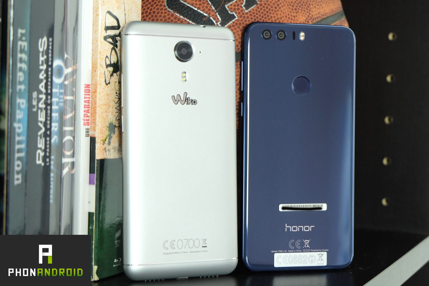 wiko ufeel prime vs honor 8