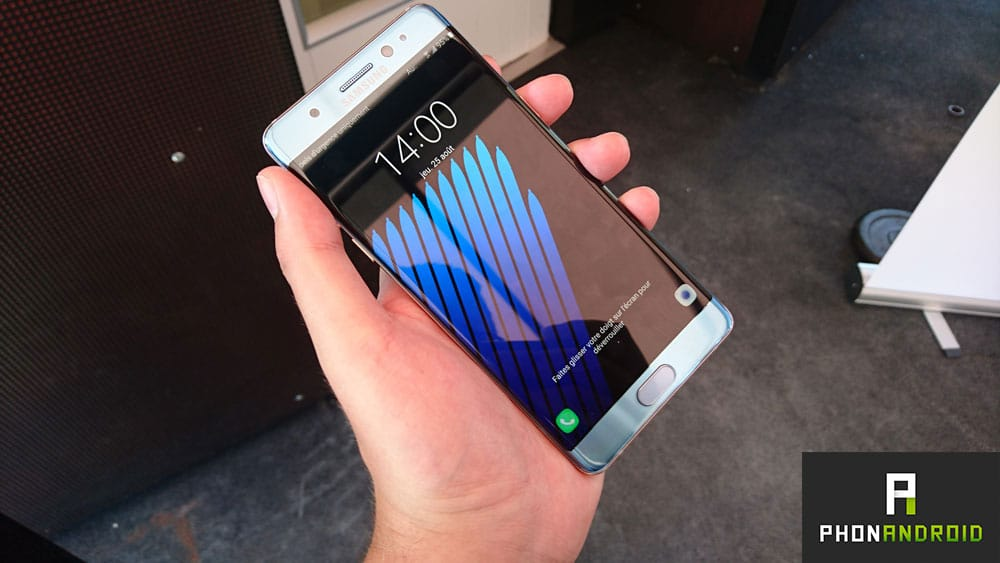 galaxy note 7 samsung connait causes explosions