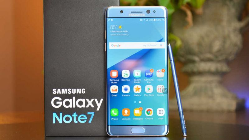 galaxy note 7 tuer