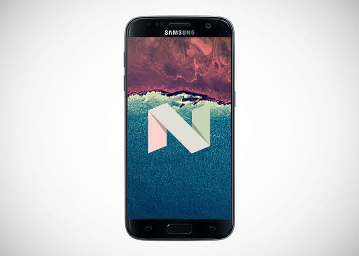 galaxy s7 comment installer beta android 7 nougat tutoriel