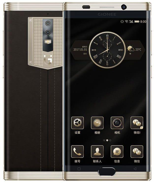 gionee m2017 design