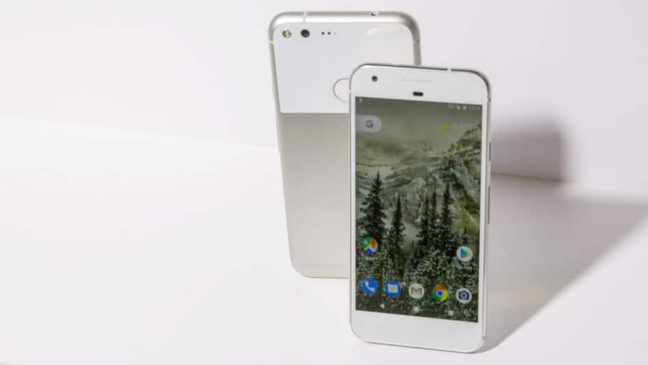 google pixel gros bug