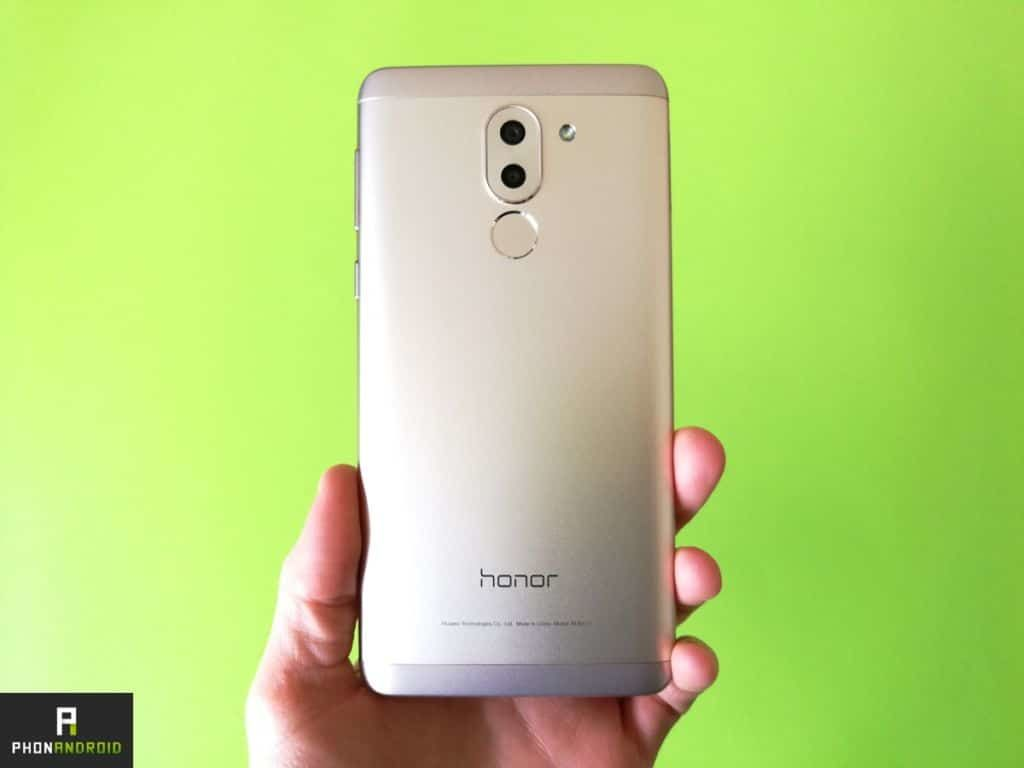 honor 6x arriere