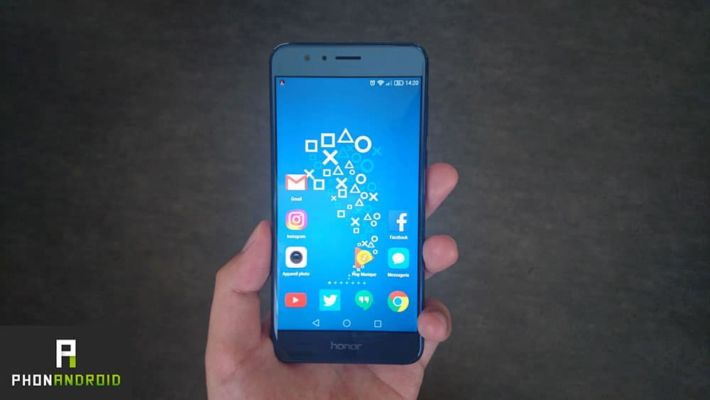 honor 8 android nougat