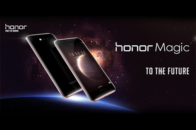 honor magic photo