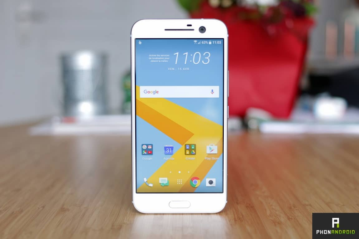 htc 10 smartphone android