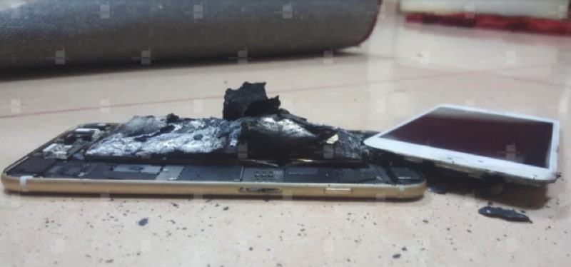 iphone 6s explosé