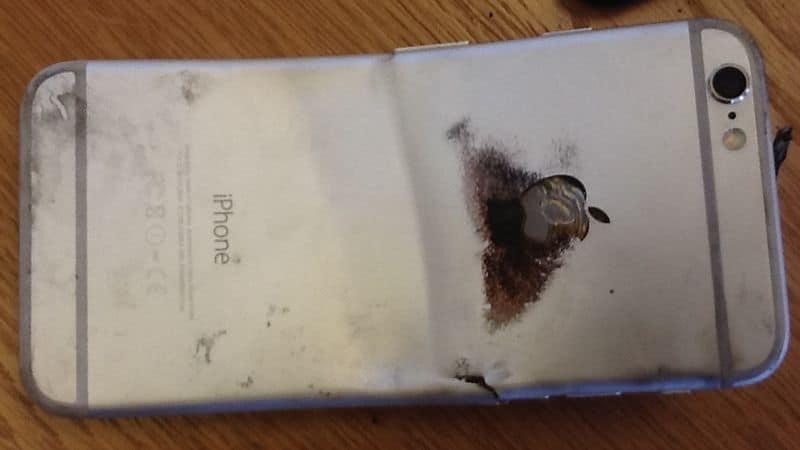 iphone 6s explose