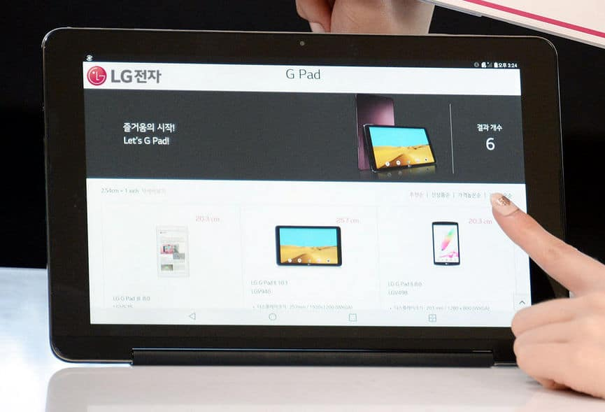 lg g pad III 10 pouces