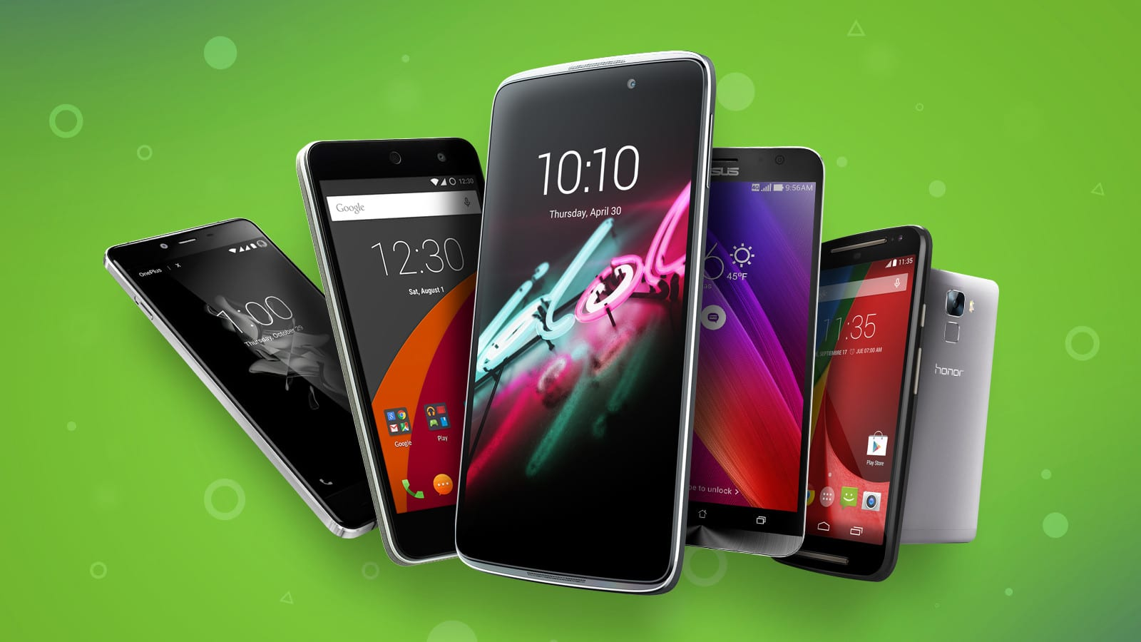 meilleurs smartphones android redac