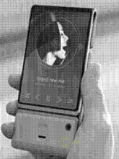 prototype smartphone pliant
