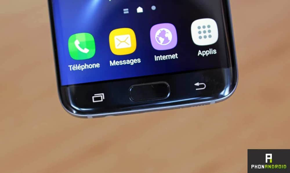 samsung galaxy s8 bouton tactile remplace 3D touch