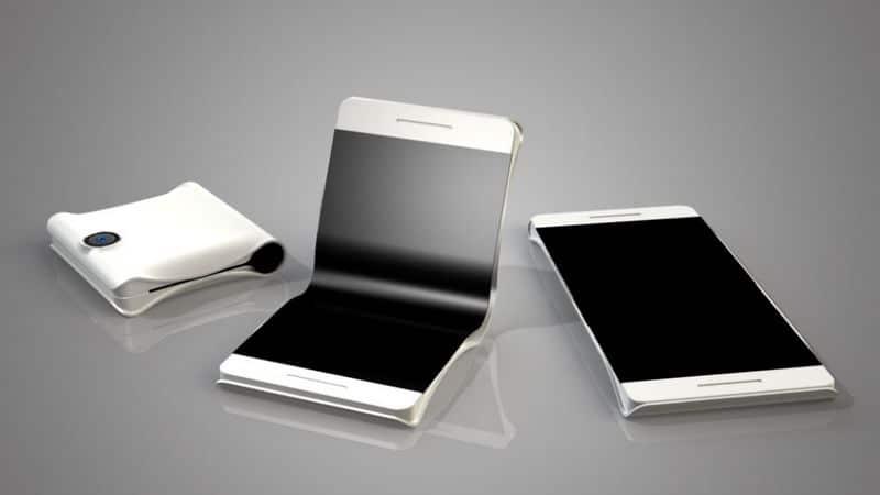 Galaxy X1 smartphone pliant