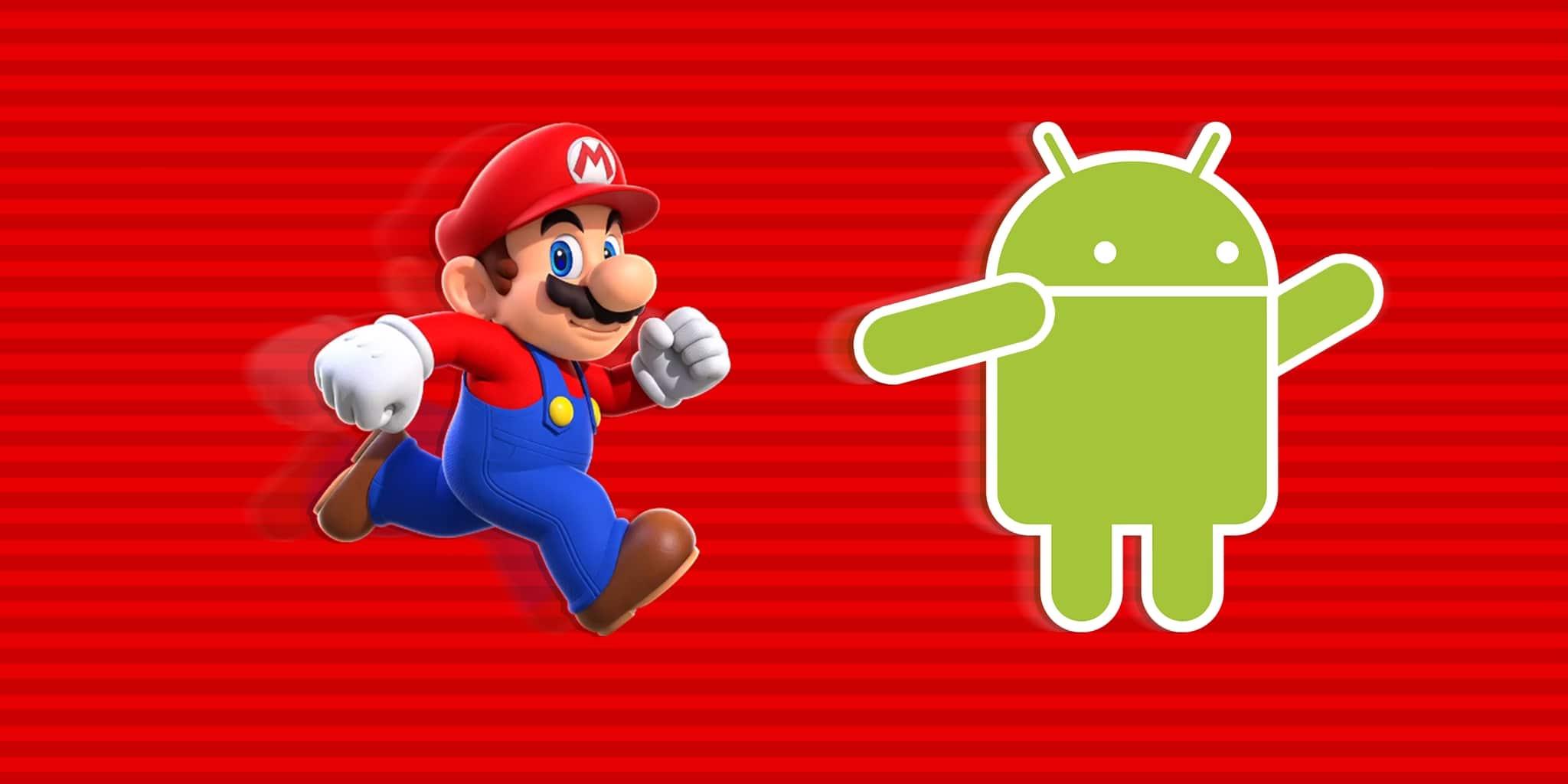 super mario run pourquoi pas android
